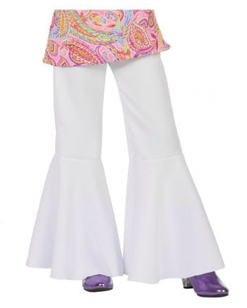 Children pant white