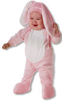 Pinker Hase Kids Costume XL