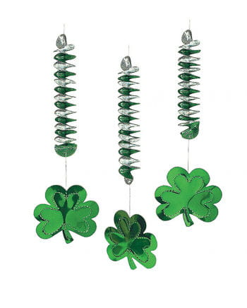 Shamrock Spiral Hanging Decoration