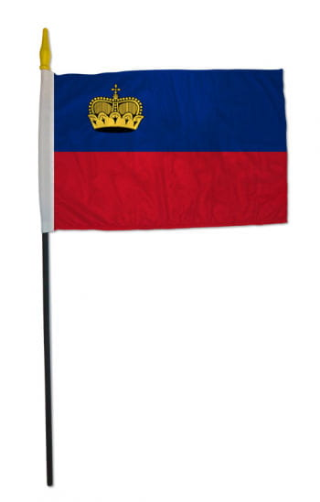 Stock Liechtenstein flag small