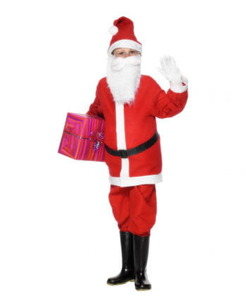 Kleiner Santa Kinderkostüm