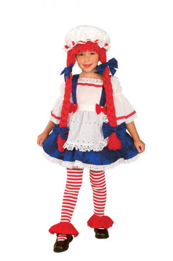 Fabric doll costume