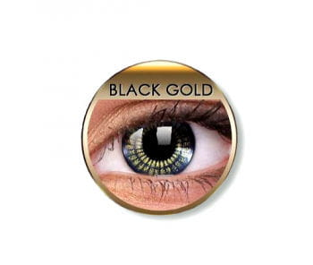 Contact lenses Black Gold