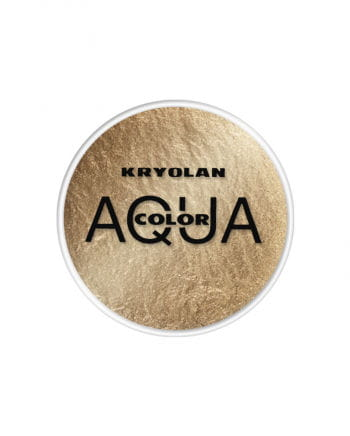 Kryolan Aqua Color metallic gold 15 ml