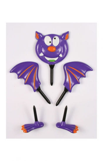 Pumpkin bat figure