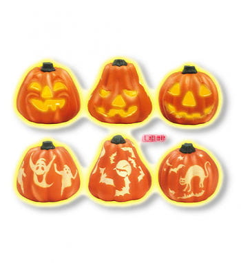 Light Up Pumpkin Diff. Motifs