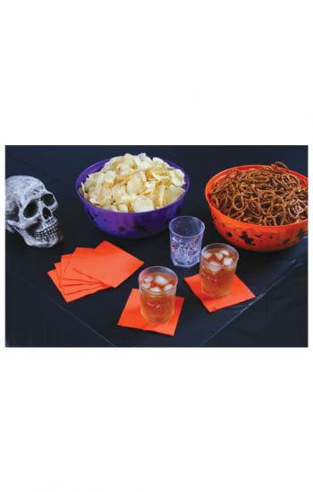 Halloween Tischdecke schwarz