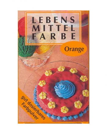 Lebensmittelfarbe Orange