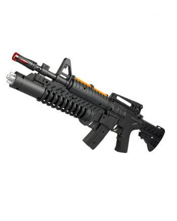 LED AK-Carbine Gun mit Licht & Sound 50cm