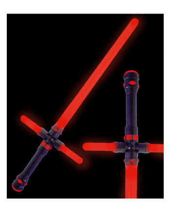 LED Lichtschwert 87cm rot