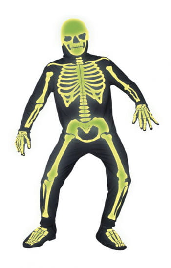 Glowing Skeleton Jumpsuit XL