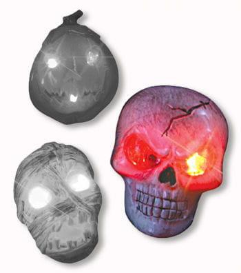 Leuchtender Skull Ring