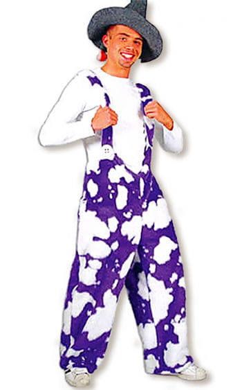 Purple Cow Costume XXL
