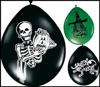 Halloween Balloons Assorted