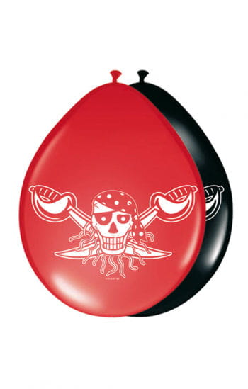 Luftballon Red Pirate