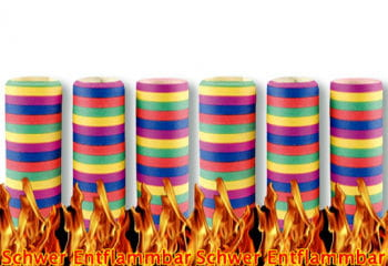 "Streamers ""Flame Retardant"""