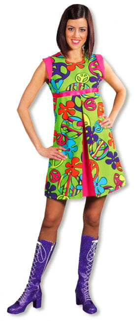 Magic Peace Kleid XL