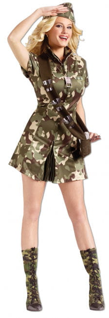 Major Lee Ladies Costume
