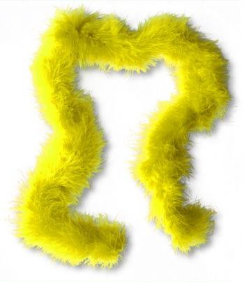 Marabubesatz Gelb
