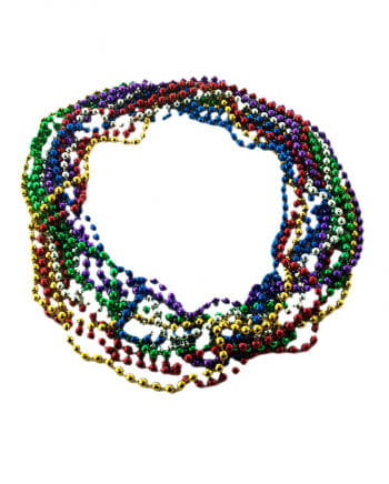 Mardi Gras Necklaces Disco Ball Effect