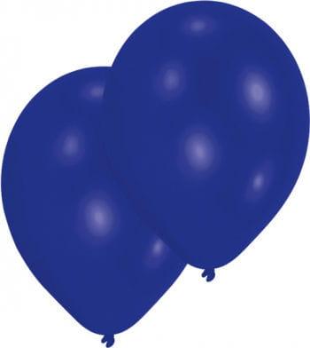 Marineblaue Luftballons 50 St.