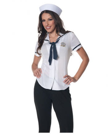Sailors ladies shirt with cap