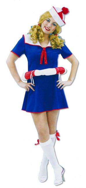 Sailor Girl Dress with Lifesaver XL/XXL 42-44