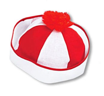 Bobby Sailor Cap Red White