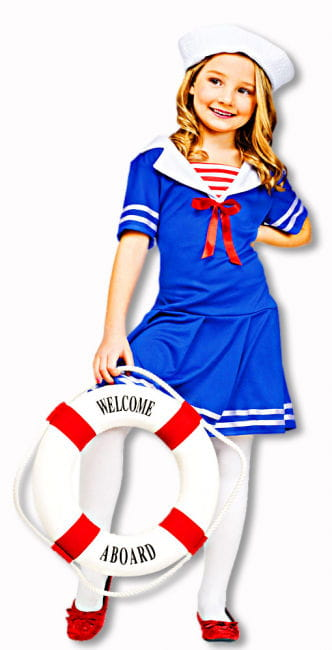 Sailor Girl Child Costume