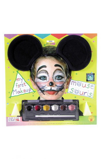 Maus Make up mit Mäuseohren