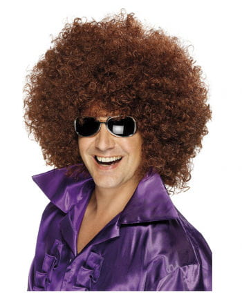 Mega Afro Wig brown