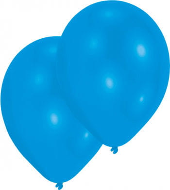 Metallic blue balloons 50 St.