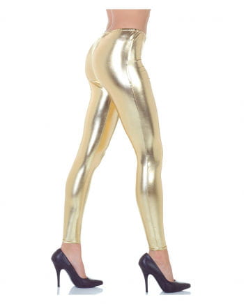 Metallic Leggings gold