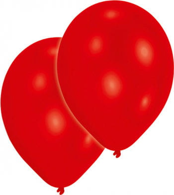 Metallic red balloons 50 St.