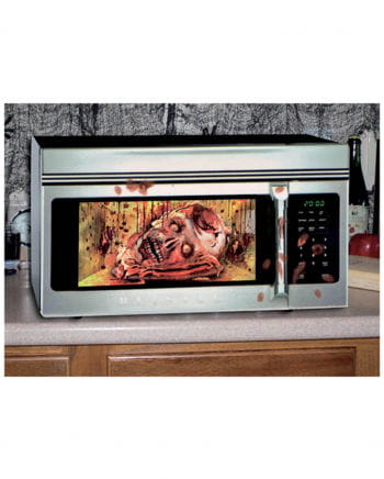 Halloween microwave foil Zombie