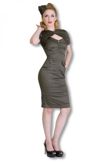 Military dress khaki