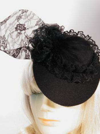 Mini Chapeau Hat Black