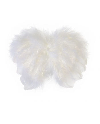 Mini Federflügel weiß