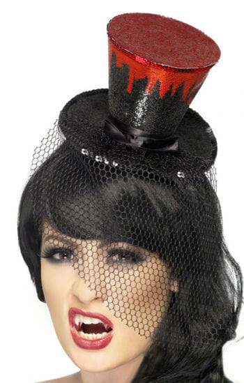 Mini Hut mit Bluttropfen