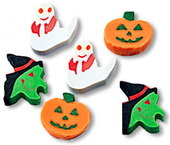 Halloween Decoration Mini Erasers Small