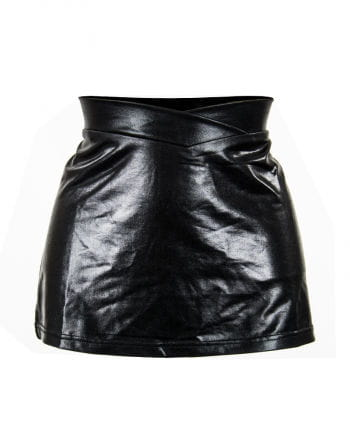 Mini skirt, leather-look Gr.M