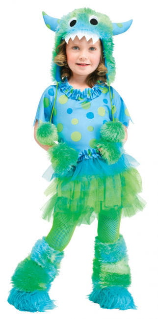 Miss Monster toddlers Costume