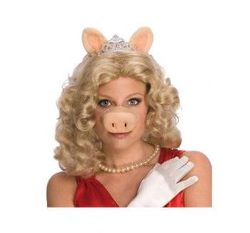 Miss Piggy Perücke