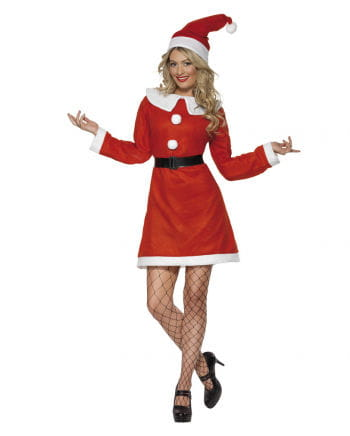 Miss Santa costume for women