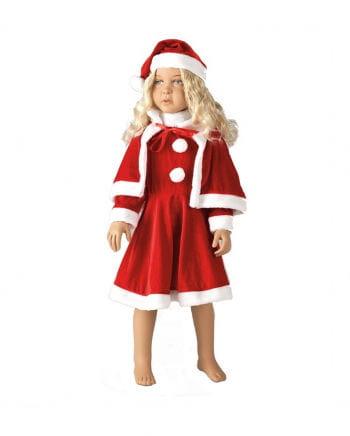 Kleine Miss Santa Kinderkostüm