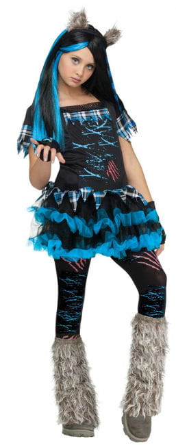 Miss Wolf Child Costume