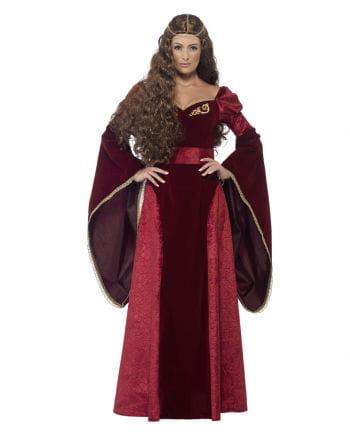 Medieval queen costume Deluxe