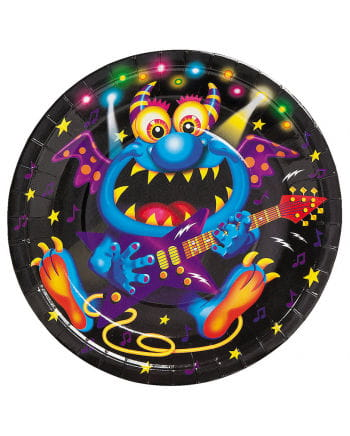 Monster Bash paper plates