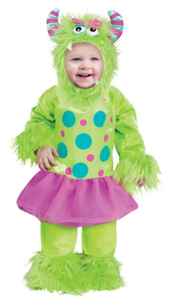 Terror in tutu Baby Costume green