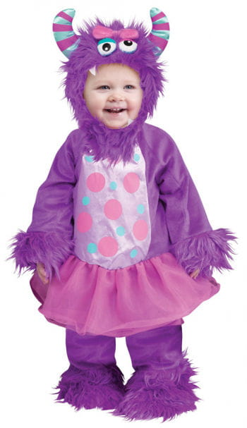 Terror in tutu Baby Costume purple